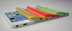 Možné podoby údajně chystaného levnějšího modelu iPhone 5C.